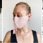 15 masques à porter le jour de votre mariage qui rendent la sécurité élégante