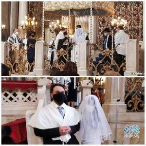 L'Italie célèbre son premier mariage juif après le verrouillage – Anash.org