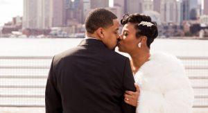 Le micro mariage de ce couple chez Del Frisco avait le style maximum