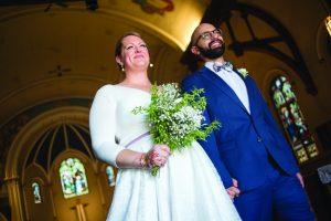 Les bénédictions remplacent les invités au mariage