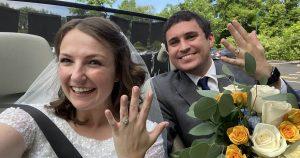 Mon petit mariage COVID a été le plus beau jour de ma vie