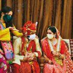 Relations: le virus contre le grand et gros mariage indien – fonction brunch