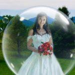 Une fantaisie pétillante pour la mariée à la distance sociale est le nouveau POP pour les micro-mariages au LeFay Cottage à Little Washington