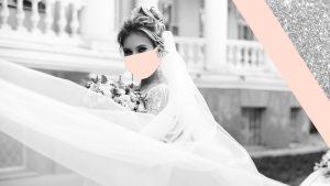 10 masques de mariée qui font de magnifiques accessoires de mariage