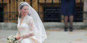 Détails sur la robe de mariée de Kate Middleton