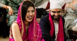 Dans le sari de sa mère et le tour de cou de Nani, voici comment cette mariée a célébré son mariage