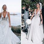 La mariée a essayé 7 robes avant de trouver une robe de mariée unique en son genre