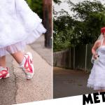 La mariée organise une œuvre de bienfaisance 5K en robe de mariée pour marquer le grand jour annulé
