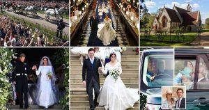 Quelle différence une année fait pour les mariages royaux
