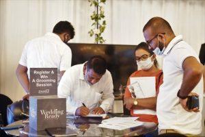 Sri Lanka organise sa première exposition de mariage depuis l'épidémie de COVID-19