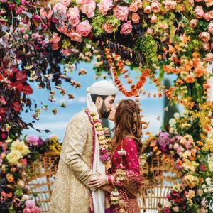 Un mariage de deux jours à deux cérémonies au lac de Côme, en Italie