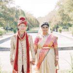 Un mariage multiculturel au Fairmount Park Horticulture Centre