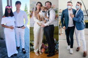 Les mariages rapides les plus cool de New York pendant la pandémie COVID-19