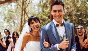 Mariages végétaliens: lumières, appareil photo et mariage avec Maria et Christian