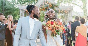 Un mariage à Philadelphie avec des traditions africaines et des vibrations modernes