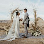 Un mariage magique dans le désert à Amangiri dans l'Utah