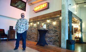 La salle de presse de Opera Alley ouverte pour les mariages et événements Tacoma