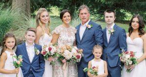 Les enfants étaient les stars de ce mariage dans le vignoble du comté de Bucks
