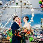 Un couple de Southsea célèbre son mariage à Clarence Parade