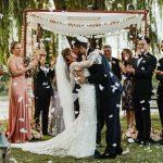 Un mariage fantaisiste à la basilique Hudson dans la vallée de l'Hudson