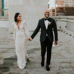 Un mariage urbain sur le toit au Hudson Loft de Los Angeles