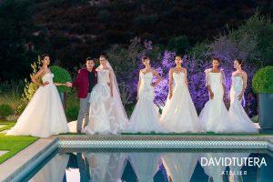 David Tutera, dit que les mariages continueront alors qu'il dévoile sa collection de robes Atelier au Panache Bridal Trunk Show