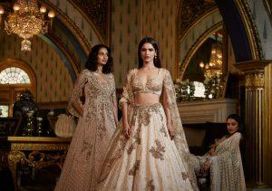 Le grand mariage indien a un look plus maigre