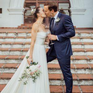 Le micro mariage de Megan Roup et Morgan Humphrey