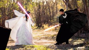 One With the Force: Idées de mariage 'Star Wars'