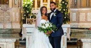 Un mariage à Saint Martin de Porres dans le nord de Philadelphie