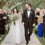 Un mariage d'inspiration pastorale à la maison familiale du marié