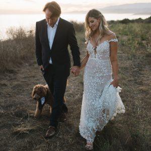 Un mariage rustique à Santa Barbara inspiré de la lune des moissons