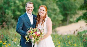 Ce couple s'est inspiré de leur magnifique ferme pour leur grand jour