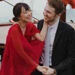 Ce mariage à Maui était une question de robe
