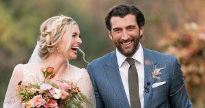 Le mariage des acteurs Allegra Edwards et Clayton Snyder