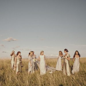 Tenue de cérémonie de mariage bohème – Concepts de costumes de cérémonie de mariage Boho pour les mariées hippie
