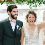 Un mariage au jardin de Hamilton sur le thème de la musique au Kimmel Centre