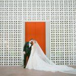 Un mariage glamour au Parker Palm Springs