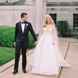 Un mariage inspiré des jardins anglais à Washington, D.C.