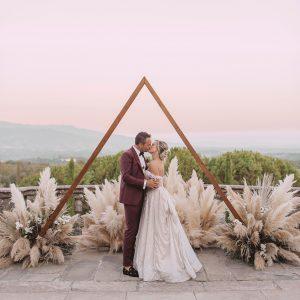 Un mariage rempli de musique à la Villa Il Palagio en Toscane