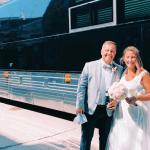 Un mariage sur roues: le pivot pandémique d'un couple pour se marier