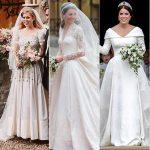 22 robes de mariée royales emblématiques: Kate Middleton, la princesse Diana, Meghan Markle et plus