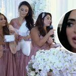 Angelina défend d'avoir des costars de Jersey comme demoiselles d'honneur après un discours de mariage désastreux