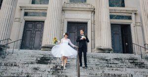 Deux villes et deux mariages – mais un seul couple