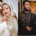 Gauahar Khan et les premières photos de Zaid Darbar après le mariage, elle arbore son énorme bague de fiançailles