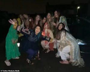 La famille de Zayn Malik ne parvient pas à suivre les règles de distanciation sociale dans les nouvelles images du mariage de sa sœur