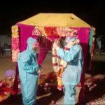 Le mariage indien prend une sensation d'un autre monde après que la mariée ait été testée positive pour COVID-19