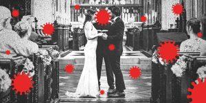 Le vaccin COVID-19 ne signifie pas que vous pouvez avoir un grand mariage en 2021