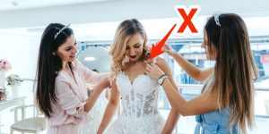 Les plus grandes erreurs commises par les mariées en achetant des robes de mariée