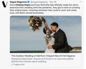 L'histoire de Vogue soulève des questions de groupe
